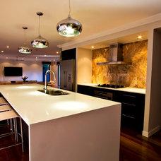 Contemporary Kitchen by THALASSA