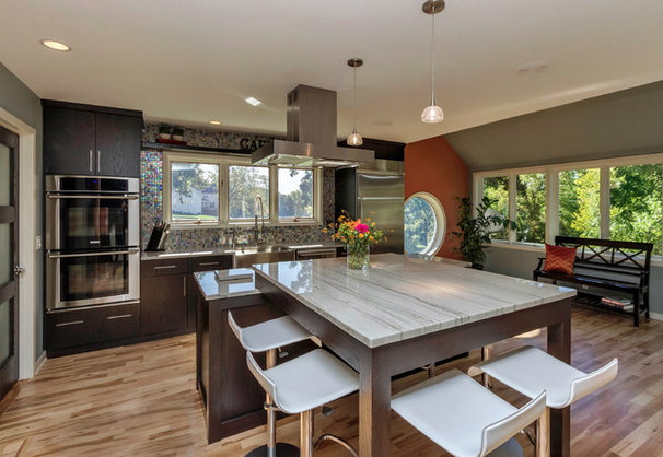 Contemporary Kitchen by Monarch Renovations