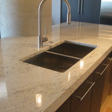 Contemporary Kitchen by Dwyer Marble & Stone Supply