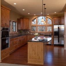 Traditional Kitchen by JDA Design Architects Inc