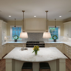 contemporary kitchen by Rugo Stone, LLC