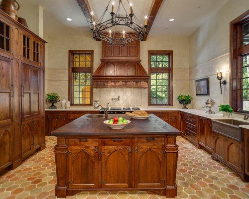 Best gothic kitchen design ideas remodel pictures houzz for Kitchen cabinet english style