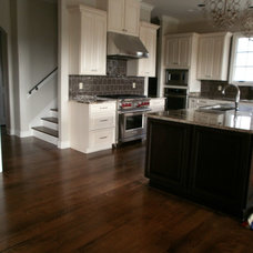 Contemporary Kitchen by Old World Floors, LLC