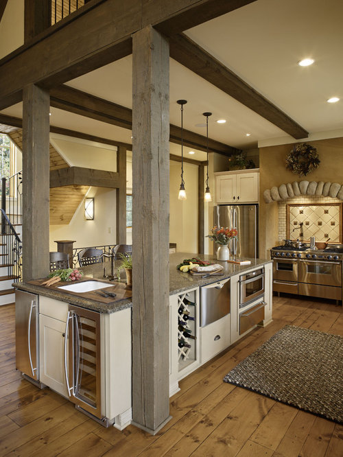 Kitchen Island Make It Yourself Save Big: Island Support Post Beam Home Design Ideas, Pictures