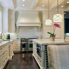 Transitional Kitchen by Cammi Werling Designs