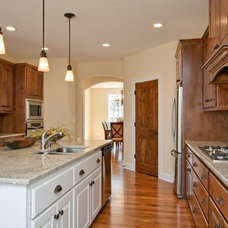 Traditional Kitchen by Kathie Karsnia Interiors