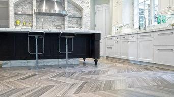 Private Residence - Kitchen Ceramic Tile Floors