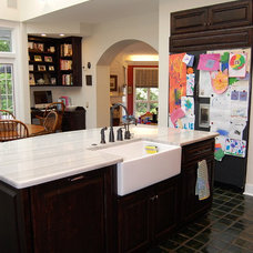 Traditional Kitchen by Leslie Stephens Design