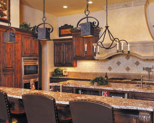 Staggered Tile Backsplash Home Design Ideas Pictures