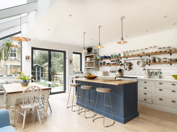 Transitional Kitchen by Lomax & Chi