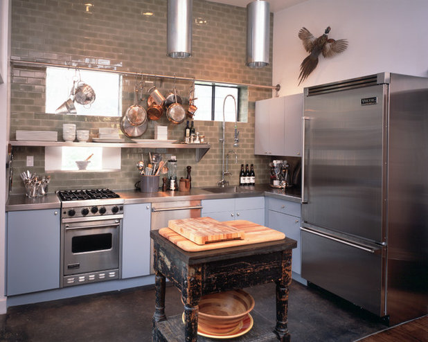 Industrial Kitchen by Lawrence Group