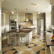 Traditional Kitchen by Kass & Associates