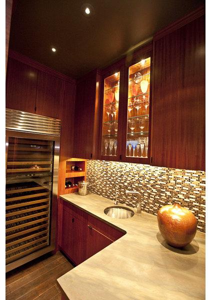 Asian Kitchen by Amelie de Gaulle Interiors