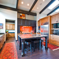 Traditional Kitchen by Sticks and Stones Design Group inc.