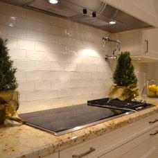 Mediterranean Kitchen by Kiva Kitchen & Bath Houston - Trevor Childs