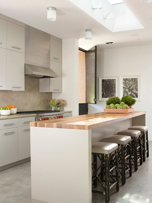 Narrow Kitchen Island | Houzz