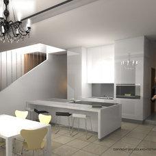 Contemporary Kitchen by CCS Architecture and Interior Design