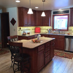long kitchen cabinets caledonia granite for white cabinets traditional 3848
