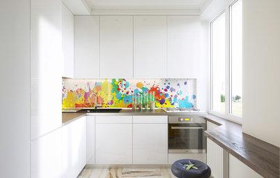 Как подобрать и с чем сочетать кухонный фартук
