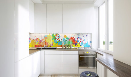 How to Add Colour to an All-White Kitchen