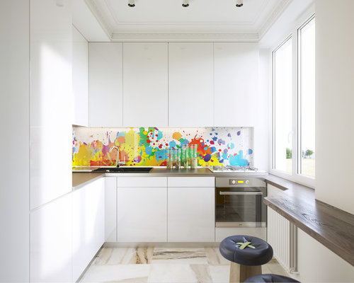 L Shaped Cabinets top 30 small l-shaped kitchen ideas & decoration pictures   houzz