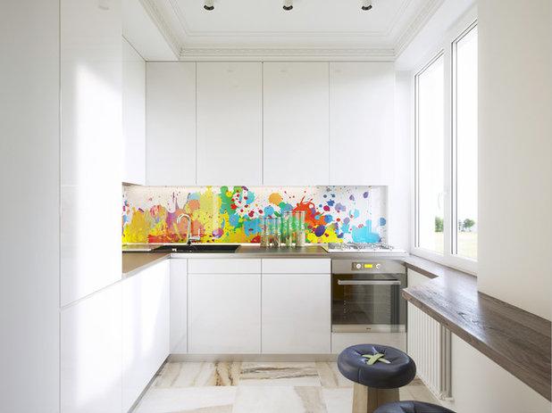 Paraschizzi che funzionano con la tua cucina bianca
