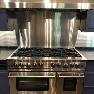 Professional grade stove