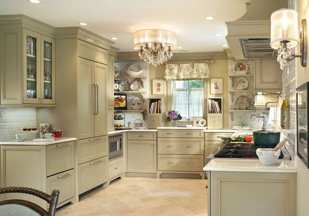 Shabby-chic Style Kitchen by Marlene Wangenheim AKBD, CAPS, Allied Member ASID