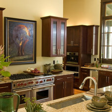 Traditional Kitchen by Cornerstone Architects