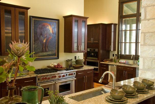 Traditional Kitchen by Cornerstone Architects