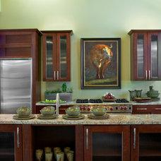 Kitchen by Cornerstone Architects