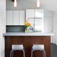 Transitional Kitchen by mckean construction