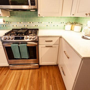 Project 1322-20 Northeast Minneapolis Mid-Century Modern Kitchen Remodel