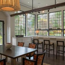 Transitional Kitchen by L. Newman Associates/Paul Mansback, Inc.