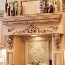 Mediterranean Kitchen by Phill's Custom Cabinets
