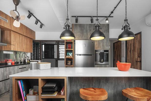 Industrial Kitchen by Blum SEA