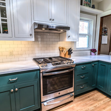 Project 3350-1 Traditional Kitchen Remodel with Solatubes in Northrop Minneapoli