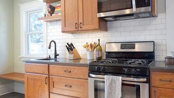 Project 3476-1 NE Minneapolis Kitchen Remodel w/ Kohler Prep Sink 55418