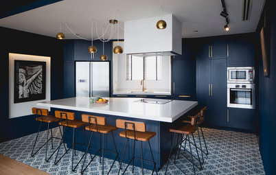 7 Sophisticated Blues for Kitchen Cabinets