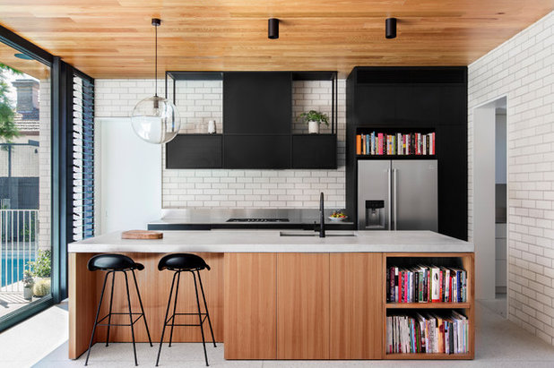 Contemporary Kitchen by Brickworks Building Products