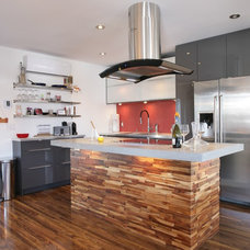 Contemporary Kitchen by WTF Project