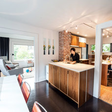Contemporary Kitchen by Imprint Architecture and Design, LLC