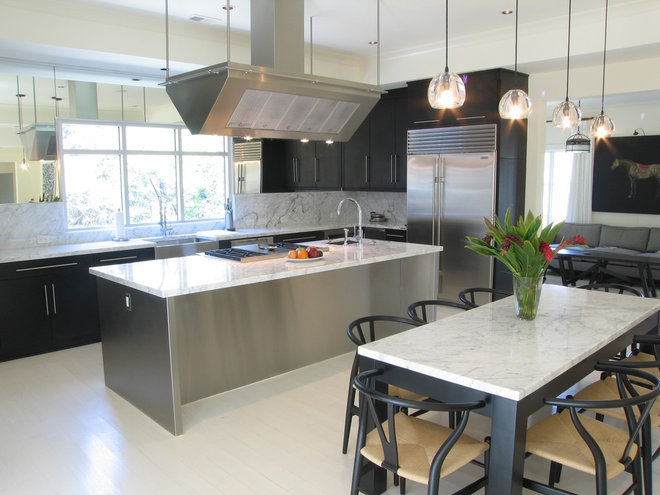 Contemporary Kitchen by Brookside Custom Homes, LLC.