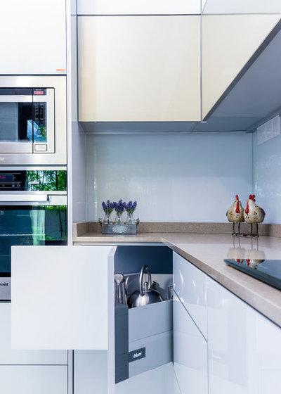Модернизм Кухня by Blum SEA