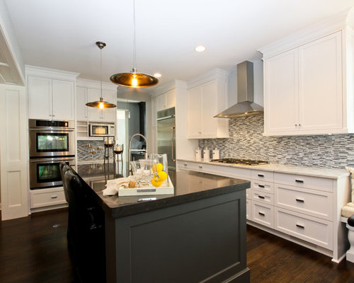Contrasting Island Design Ideas & Remodel Pictures | Houzz