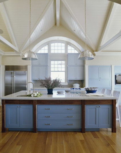 Beach Style Kitchen by Sherrill Canet Interiors