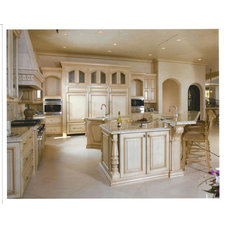 Mediterranean Kitchen by Macaluso Designs, Inc.