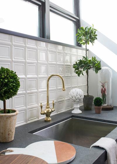 Fusion Kitchen by Breeze Giannasio Interiors