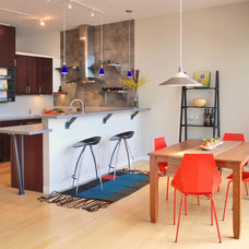 Eclectic Kitchen by BARRETT STUDIO architects