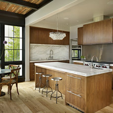 Contemporary Kitchen by Helen Hald Architecture